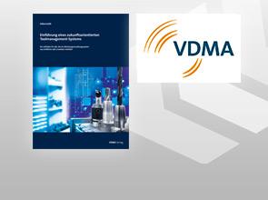 """COSCOM engagiert sich im Rahmen des VDMA Arbeitskreises """"Werkzeugverwaltung""""  bei der Erstellung des neuen VDMA Toolmanagement-Leitfadens."""