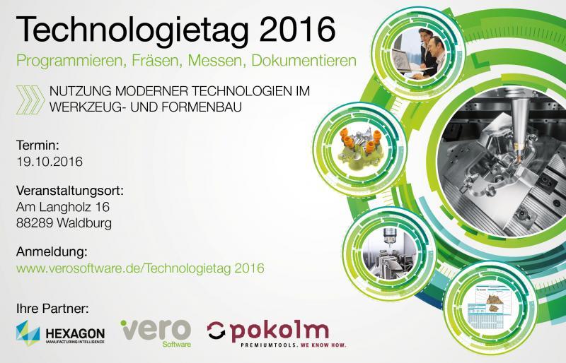 Ein spannender Technologietag steht bevor!