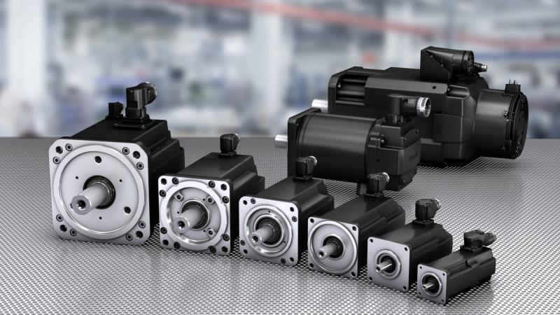 IndraDyn S – MS2N synchronous servo motors extended by additional variant
