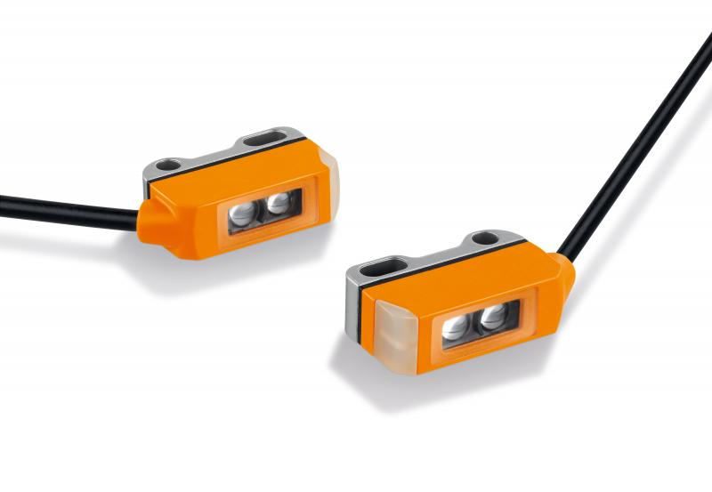 New miniature photoelectric sensor - small but effective!