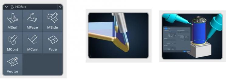 Potentes funciones en 5 ejes y un claro concepto de uso
