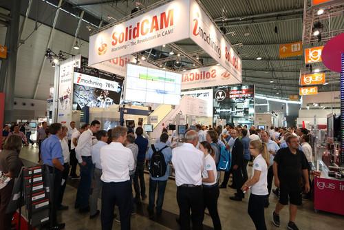 Die AMB 2016 – Technologien von morgen auf dem Stand von SolidCAM