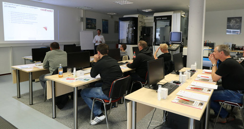 Oelheld Seminar im SolidCAM Technologiezentrum in Schramberg