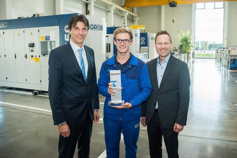 Fourth KRAFTHAND Technology Award created by a GROB apprentice