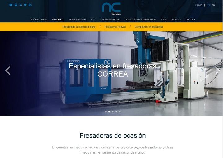 NC Service felicita la Navidad y el año nuevo con mejoras en su página web