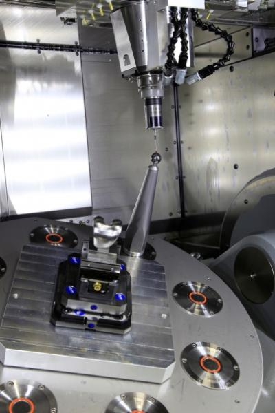 High-precision measurements: the workpiece