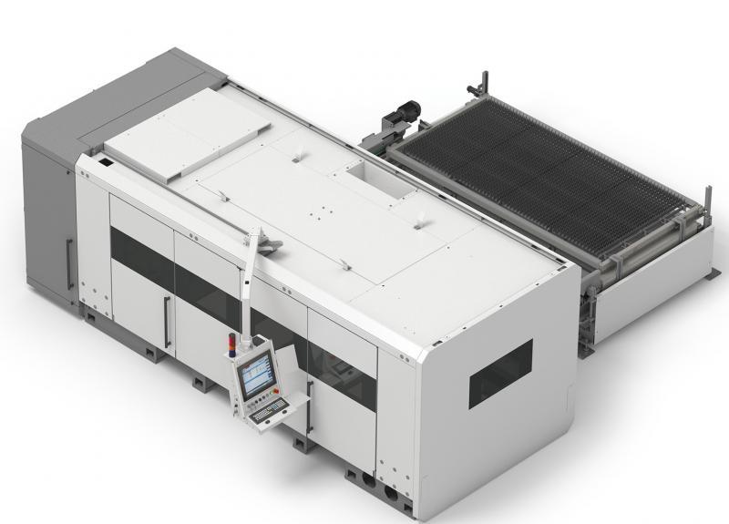 Angesichts seiner vielen, im Markt erfolgreich eingesetzten Kombimaschinen für das Schneiden von Blechen und Rohren hat ADIGE-SYS beschlossen, die Spitzenleistung dieser Maschinen dediziert für das Schneiden von Blechen anzubieten. Das Ergebnis ist die LS5 – eine Maschine ausschließlich für das Laserschneiden von Blechen.