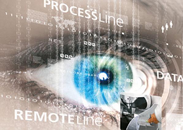 """Die gesamten Aktivitäten zur Digitalisierung hat die CHIRON Group unter die Marke """"SmartLine"""" gestellt. Dazu gehören DataLine, ProcessLine und RemoteLine.  Neu: Mit RemoteLine bieten wir einen zuverlässigen web-basierten Teleservice an - von überall nach überall  Live auf dem OPEN HOUSE 2017."""