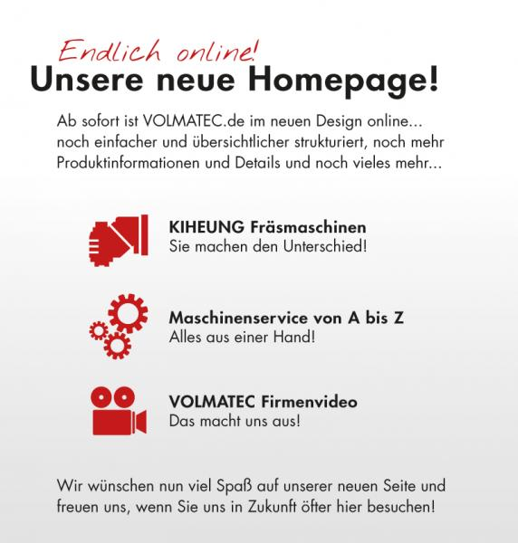 Aktuell: Relaunch von VOLMATEC.de - jetzt online!