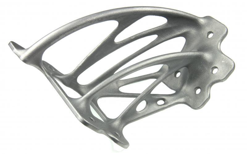 3D-gedruckter Aluminium-Halter mit bionischer Struktur