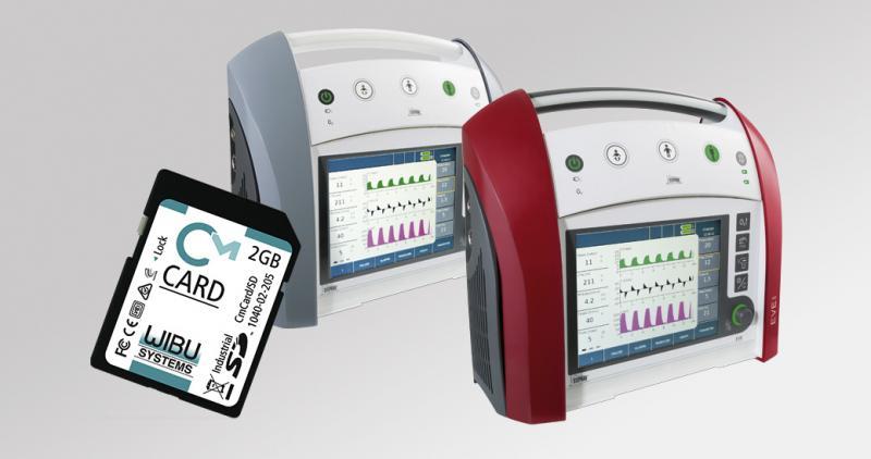 Die CodeMeter-Technologie von Wibu-Systems schützt Geräte und erlaubt bedarfsabhängige Geschäftsmodelle für das Gesundheitswesen