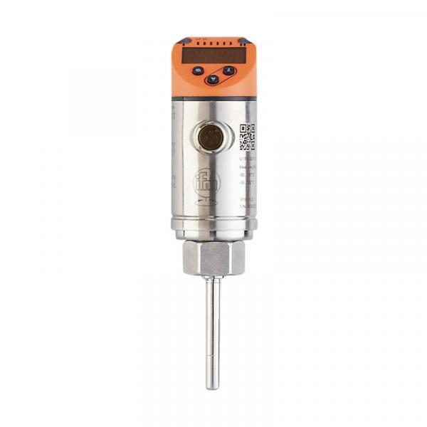 Neuer Temperatursensor mit Prozessanschlüssen und Auswerteelektronik