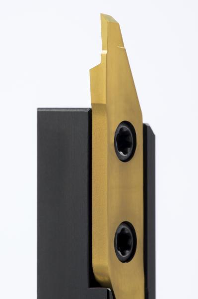 Stabile Klemmung und feinstgeschliffene Schneiden zeichnen das neue System 262 von Horn aus.