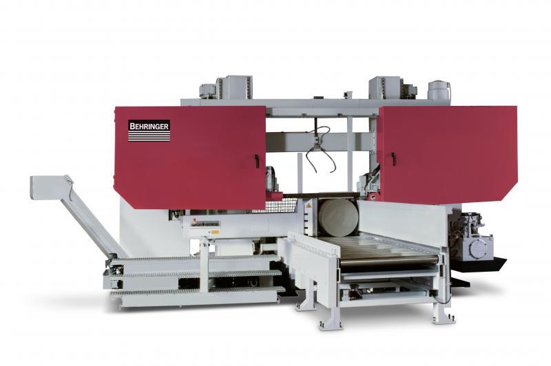 Robuste, schwere Sägemaschinen zum Bearbeiten  großer Dimensionen – vertikal und horizontal.