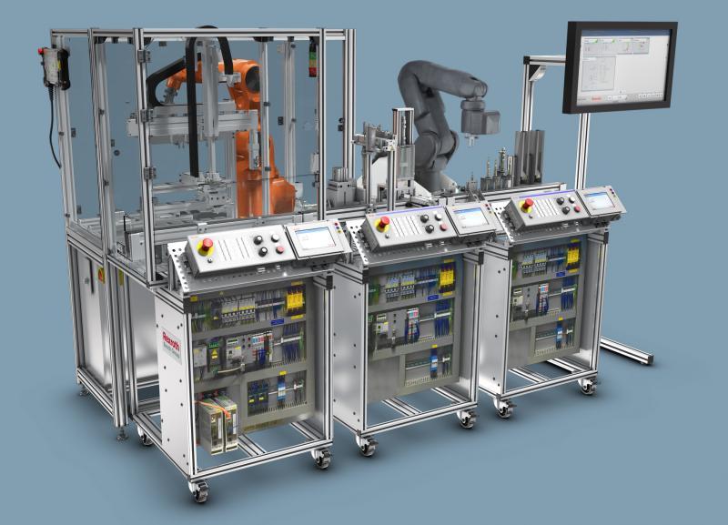 Bosch Rexroth baut Mechatronik-Trainingssystem für Industrie 4.0 weiter aus