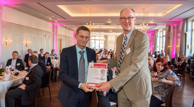 Wibu-Systems' CodeMeter µEmbedded wins the Electronic Product of the Year Award 2017