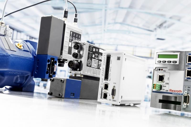 Modularer Maschinenbau leicht gemacht: Rexroth Motion Controls für Elektrohydraulische Achsen