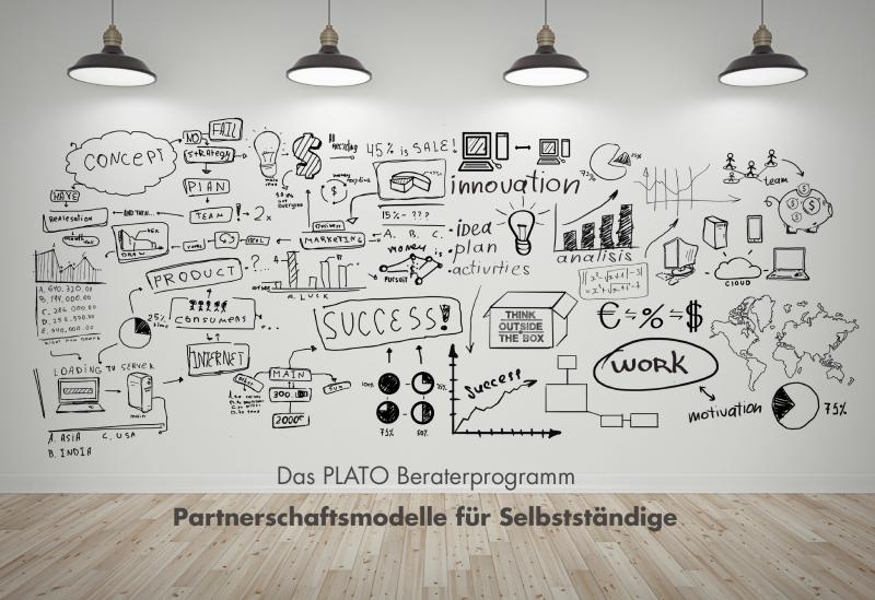 Das Erfolgskonzept: Unternehmerische Freiheit verbunden mit der erfolgreichen Marke PLATO  Seit vielen Jahren unterhalten wir, die PLATO AG, ein breites Netzwerk von selbstständigen Beratern und Beratungshäusern. Zur Erweiterung unseres Dienstleistungsangebotes stellen wir unseren Kunden ein Team von PLATO-zertifizierten Unternehmensberatern zur Verfügung.  Entdecken Sie die Vorteile einer PLATO Partnerschaft:  - Nutzen Sie die PLATO Web-Technologie für Ihre Moderationsaufgaben. - Profitieren Sie von der bewährten, skalierbaren und zukunftssicheren PLATO Software. - Erlangen Sie mehr Sichtbarkeit durch Ihren Auftritt auf der PLATO Internetseite. - Nutzen Sie die starke Marke PLATO für Ihr Geschäft und erschließen Sie neues Kundenpotenzial für Ihre Beratungstätigkeiten.