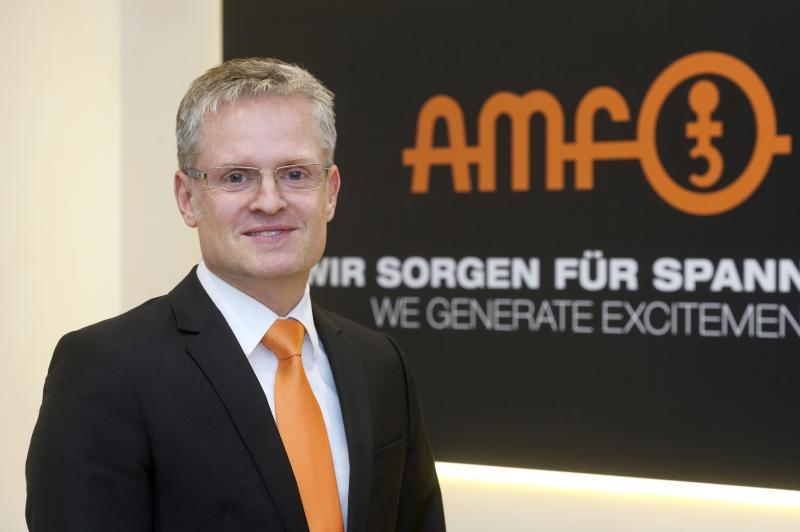 """Jürgen Förster, Prokurist und Vertriebsleiter der AMF Andreas Maier GmbH & Co. KG, Fellbach: """"Kunden wollen die individuelle Lösung – zugeschnitten auf Ihre Anforderung."""""""