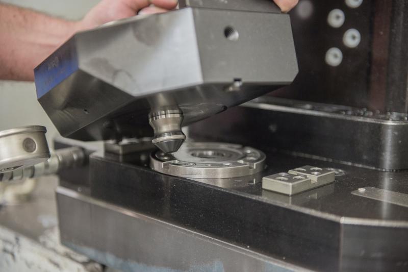 Im Zentrum der Komplettlösung von AMF stehen die bewährten Nullpunktspannsysteme.