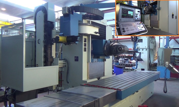 Reconstrucción y venta de fresadoras de bancada CORREA A25 y A30 para la industria francesa