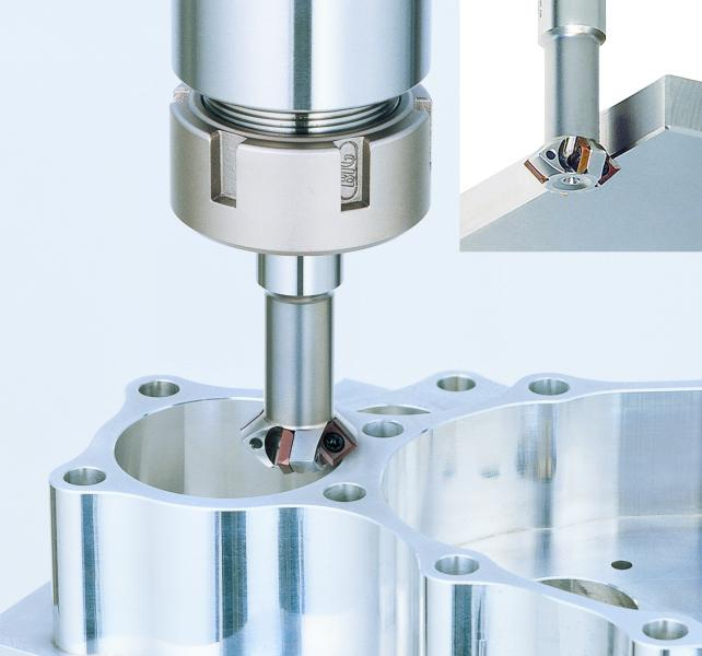 The C-Cutter Mini is designed for multi-functional cutting tasks, including chamfering, back chamfering and face milling.