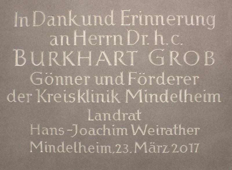 Two million euros donated to Mindelheim district hospital