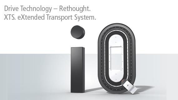 XTS de «diseño higiénico» para soluciones de movimiento compactas, altamente flexibles y limpias