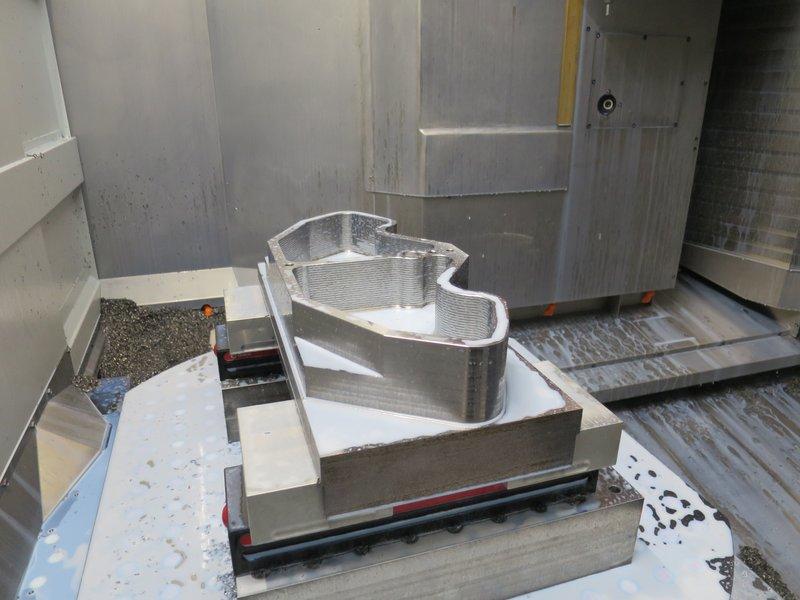REIDEN RX10, 5-Achsen Bearbeitungszenter mit 2-fach Palettenwechsler, Baujahr 2015