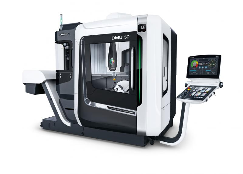 The DMU 50 3rd Generation sets new standards in 5-sided to 5-axis simultaneous machining.