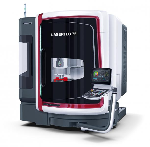 A footprint of just 8 m² makes the LASERTEC 75 Shape the ideal companion even in the tightest production environment.