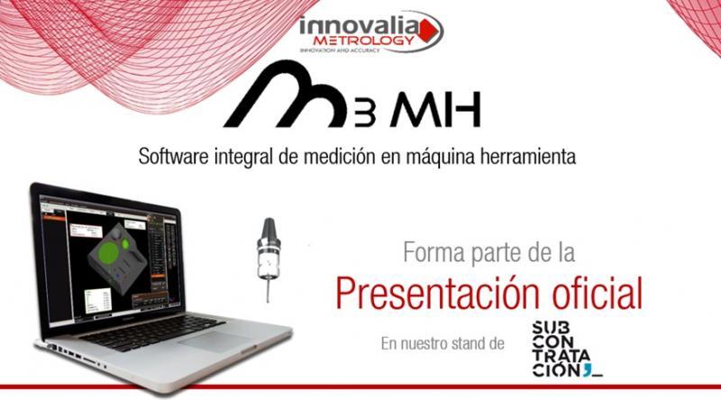 Innovalia Metrology presenta M3MH en la feria Subcontratación en el BEC el 8 de Junio