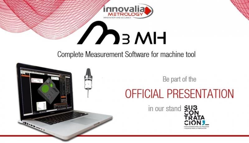 Innovalia Metrology presents M3MH at the Subcontratación trade show on June 8th
