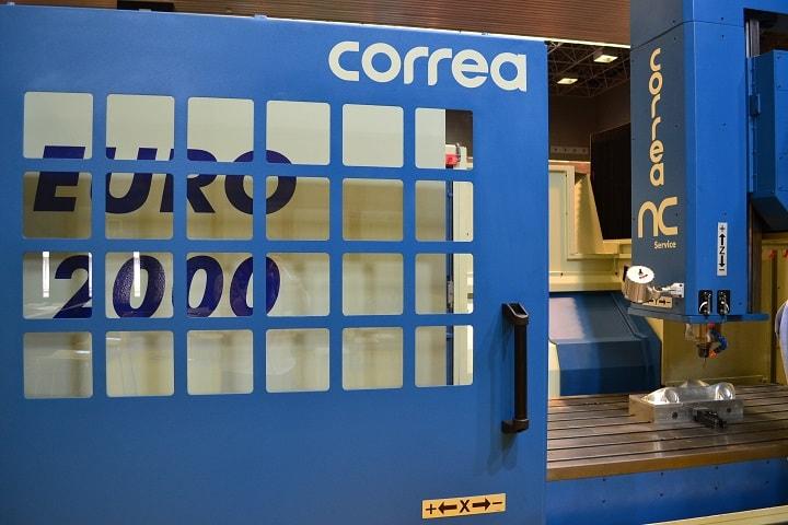 Segunda fresadora CORREA EURO2000 reconstruida por NC Service y vendida al mismo cliente