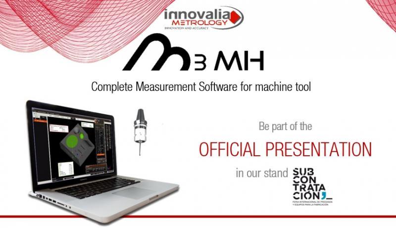 Innovalia Metrology präsentiert die M3MH-Software auf der Subcontratación in Bilbao