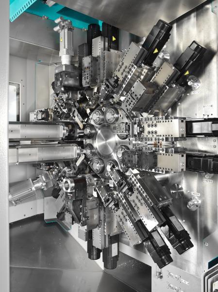 MultiLine INDEX MS40C-8 - Acht Spindeln für mehr Produktivität