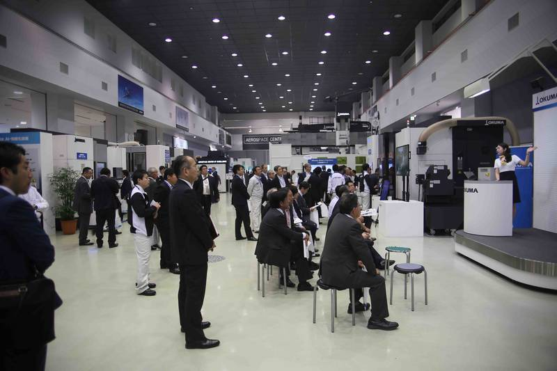 OKUMA MACHINE FAIR RINGS IN A NEW AGE OF CNC MACHINING