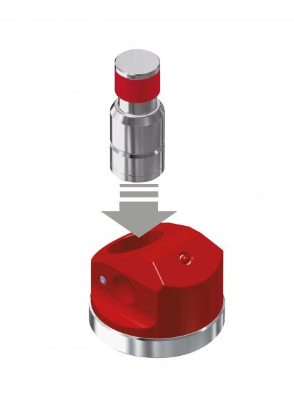 All-material measuring tool for defining workpiece offsets and tool lengths