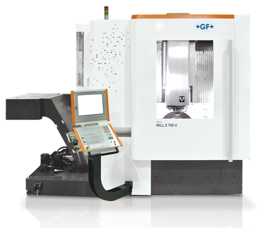 GF Machining Solutions' highly productive and flexible Mikron MILL E 500 U and Mikron MILL E 700 U five-axis, high-efficiency Milling solutions are the answer for manufacturers looking for the best price / performance ratio essential to achieving competitive cost per part in the production of small to medium batches of parts.