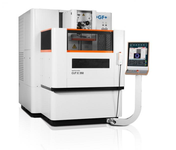 GF Machining Solutions' AgieCharmilles CUT E 350 and AgieCharmilles CUT E 600 wire-cutting EDM machines help manufacturers cut their parts - and their costs - faster than conventional machine models.