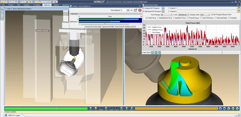 CGTech to Demonstrate VERICUT Software Version 8.1 at EMO