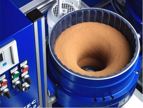 Die richtige Mischung für Präzision: Tellerfliehkraftmaschine von OTEC.