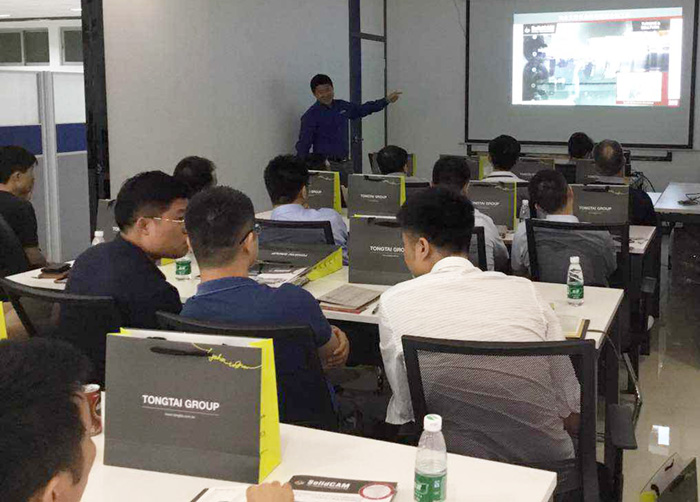 SolidCAM China and partner Tongtai held a successful iMachining Seminar