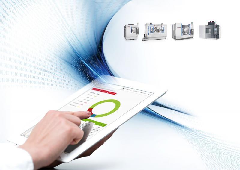 """Digitale Angebote zur Produktionsoptimierung bietet die CHIRON unter dem Oberbegriff """"Smartline"""" an."""