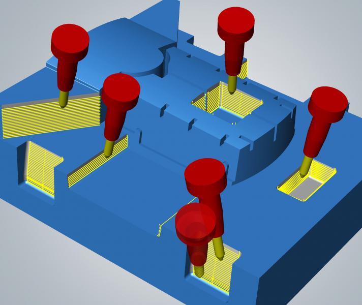 Effizienzsprünge für den Formenbau mit hyperMILL® MAXX Machining