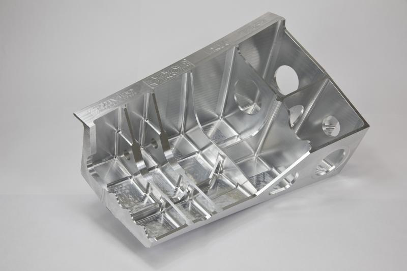 Structural component: Machined in two hours and 15 minutes with hyperMILL®