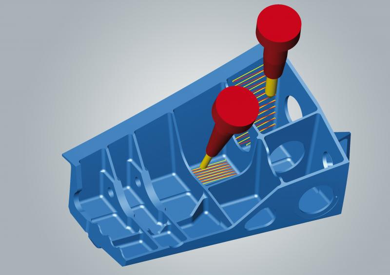 5axis tangent plane machining: time savings up to 90%