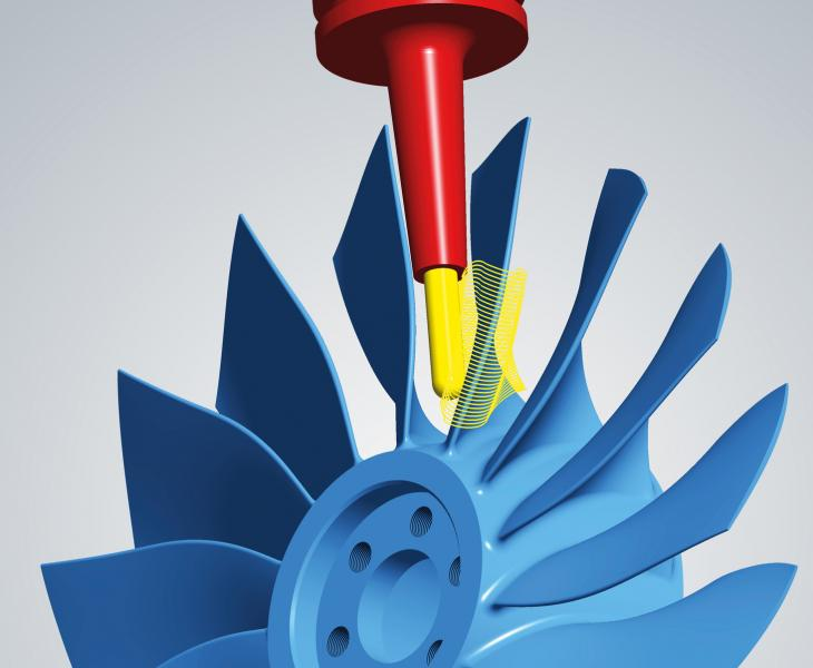 hyperMILL® multiblade package: fast and reliable strategies