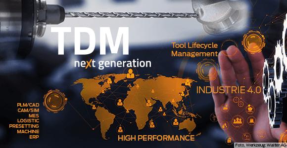 TDM next generation heißt die Industrie 4.0-Lösung für Werkzeugdatenmanagement in der zerspanenden Fertigung.