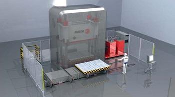 MBHA gibt bei Fagor Arrasate eine HCL Presse für Strukturteile für den Automobilsektor in Auftrag
